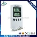 Electric medidor de temperatura digital temperatura umidade medidor para interior/dth-16 ao ar livre