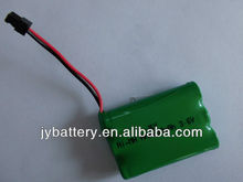 3.6v J & Y good quality nimh rechargeable battery pack AAA 650mah