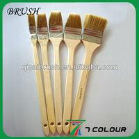 Long handle angle paint brush set, bent brush,pvc glue brush