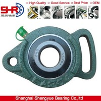 FYH Plummer Block Pillow Block Bearings UCFA203 UCFA203-011 Bolt Mounted Ball Bearings High Precision