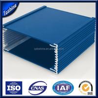 power coating aluminium box electronic / box electronics / extrusion aluminum