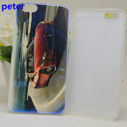 Blue Light TPU Phone Case For iPhone 6 for many model