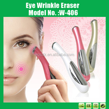 Micro Electric Vibrating Ionic Eye Massage Pen for Personal Beauty Care