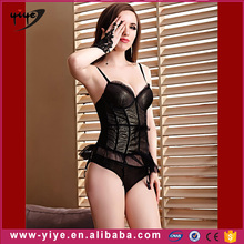 Customized LOGO open sexy baby doll lingerie