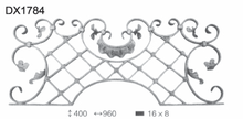 high quality wrought iron gate decoration, ornamental wrought iron for fence
