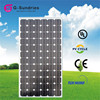 High efficiency best quality and hot selling solar panel battery