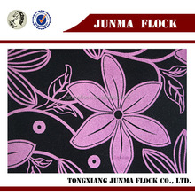 Flcoking Jacquard Chenille Fabrics for Sofa Furnishing with Coating