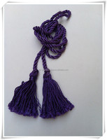 cheap dacron tassel for curtain dcoration ,fringe tassel ,trim tassel