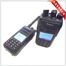 buy wholesale direct from china walkie talkie MD-380 tyt GPS Digital+Analog Compatible with Mototrbo radio with LED