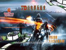 Shanghai electric new product 7d simulator theater motion cinema platform manufacturer