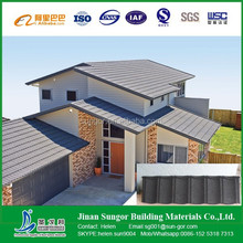 popular classic colorful stone coated metal roofing tile /Stone Chip Coated Metal Roof Tile sheet