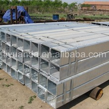 ASTM A500 welded hot dip galvanized square and rectangular tube