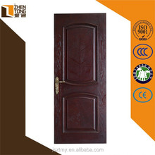 2015 high evaluation environment friendly wood room door design