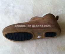 de piel de oveja de ocio botas antideslizantes