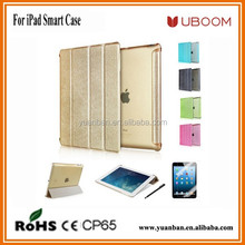 "Ultra Thin Stand Design PU Leather case for ipad 3 4 2 9.7"" Colorful Flip Smart Cover Smartcover for iPad air"