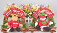 Christmas deer plush decoration Christmas promotion students toys