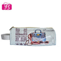 Beautiful printed leather pencil case wholesale