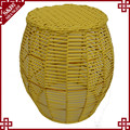 Shangdi eco de móveis confortável amarelo abs banqueta