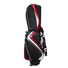 Custom PU leather golf stand bag