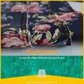 Hiçbir. 619 çiçek baskı denim kumaş