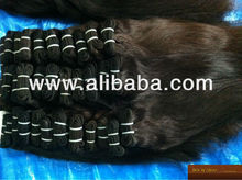 Indian Temple hair/ virgin/ remis hair wefts