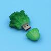 cabbage usb flash drive, custom pvc usb flash drive, pvc cabbage usb flash drive