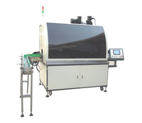 multi color automatic screen printing machine for sale for bottles and caps, automatic silk screen printing machine