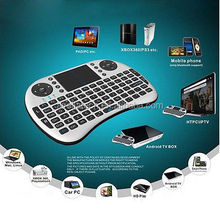 Wholesale price 2.4g i8 mini wireless keyboard air mouse i8 with touch pad