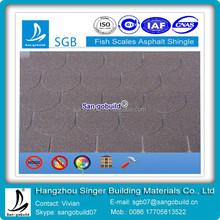 Hot Sale Black Fish-scale Fiberglass Asphalt Shingles Cost