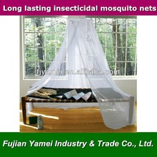White Color Single Bed Mosquito Net Canopy