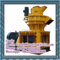 Wood pellet machine with automatic lubrication system
