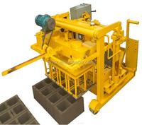 Small Moving Egg Laying Concrete Block Making Machine