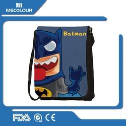 China manufacturer colorful photo printing washable sublimation shoulder bag