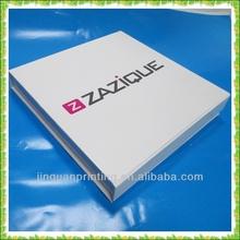 Popular glossy DVD packaging box/disc box/CD box