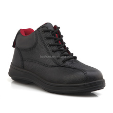 Cleanroom safty boots/wide steel toe cap safety shoes/men executive safety shoe