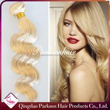 factory price 7a bundle brazilian virgin hair extension women fashion wholesale hair 613 color