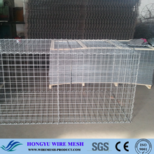 rock filled gabion baskets/gabion box stone cage