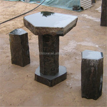 garden stone tables and chairs
