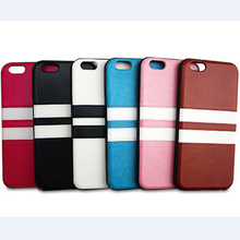 stripe battery leather back cover case for iphone6 iphone 6
