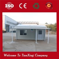 China professional low cost high quality prefab houses china container hotel
