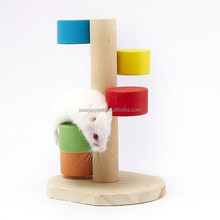 Wooden toy for small pets