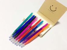 Erasable gel pen refill