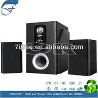 2.1 channel mini speaker 12v dc multimedia speaker