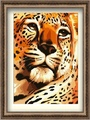 40 * 50 cm preço de fábrica selvagem pintura animal africano art atacado