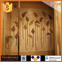 wholesale price hot selling tall mosaic glass candle holders for kitchen backsplash
