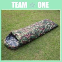 Waterproof Camping Sleeping Bag Hiking 190T Thicken Camo Mummy