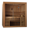 3 persons luxury dry steam sauna room Eco-friendly wooden sauna room