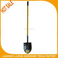 HOT SALE Long Fiberglass Handle Steel Shovel