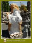 pedra natural estátua de buda