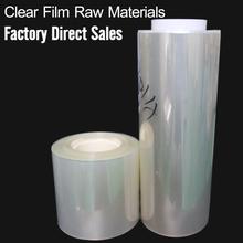 HD transparency screen protector material PET Screen Protector Film Roll
